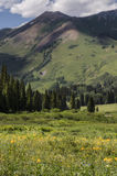 Crested Butte Colorado Rocky Mountains Stock Photography