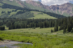 Crested Butte Colorado Rocky Mountains Royalty Free Stock Photography