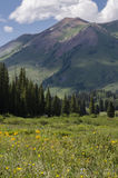 Crested Butte Colorado Rocky Mountains Stock Photo