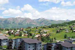 Crested Butte -- Mountain Resort Stock Photos