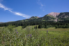 Crested Butte Mountains Royalty Free Stock Images