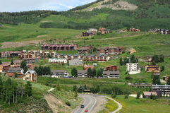 Crested Butte -- Mountian Resort Stock Images
