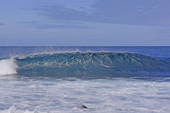 Cresting Wave on a Tropical Ocean Royalty Free Stock Photos