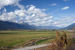 Creston Valley by Kootenay Pass Royalty Free Stock Image