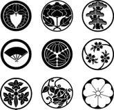 crests японец семьи Стоковая Фотография RF