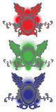 Crests Shields Wings Vector Stock Photos