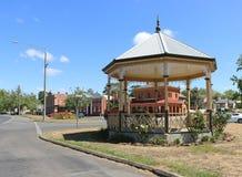 Creswick's Queen Victoria band rotunda (1897) was built to honour Queen Victoria in her diamond jubilee year Stock Photo