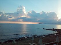 Creta Ammoudara Immagine Stock Libera da Diritti