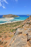 Creta, Balos Foto de Stock Royalty Free
