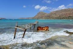 Creta, Balos Fotos de Stock Royalty Free