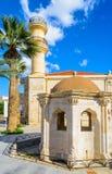 Creta, città di Ierapetra, Grecia fotografie stock
