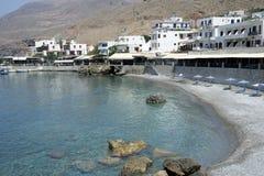 Creta da praia Fotos de Stock Royalty Free
