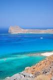 Creta da praia de Balos foto de stock