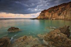 Creta del este, Grecia Imagen de archivo