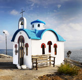 Creta Grécia da igreja ortodoxa Imagens de Stock Royalty Free