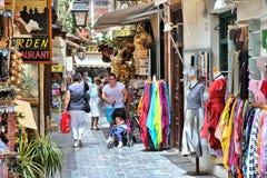 Creta - Rethymno Fotografia Stock