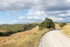 Creta Senesi (Toscana, Italia) Immagine Stock Libera da Diritti