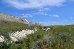 Cretaceous утес Стоковые Изображения