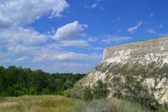Cretaceous утес Стоковые Изображения RF