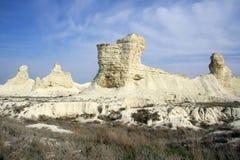 Cretaceous berg arkivbild