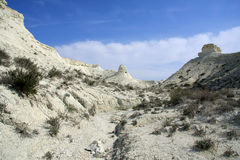 Cretaceous berg arkivfoto