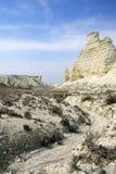 Cretaceous berg royaltyfri bild