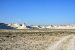 Cretaceous berg royaltyfria bilder