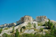 Cretaceous berg royaltyfria foton