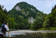Cretaceous mountains Pieniny National Park panorama Royalty Free Stock Image