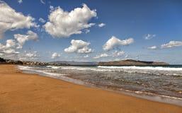 Cretan beach Stock Photography