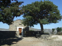 Cretan Chapel stock photo