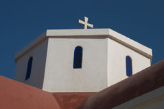 Cretan Church Stock Photography