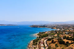Cretan eastern coast Stock Photography