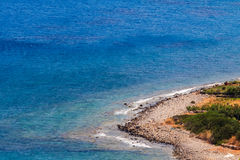 Cretan eastern coast Royalty Free Stock Photos
