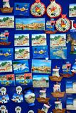 Cretan fridge magnets, Rethymno. Royalty Free Stock Photo