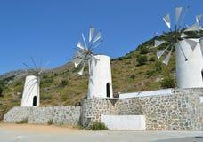 Cretan mills Stock Photography