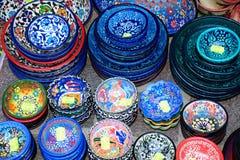 Cretan pottery, Chania. Stock Photos