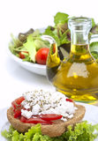 Cretan recipe Stock Images