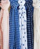 Cretan scarfs Stock Image