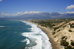 Cretan scenic view Stock Photography