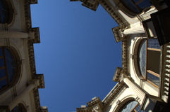 Cretan sky Royalty Free Stock Images