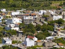 Cretan village. Typical cretan village in rural region Royalty Free Stock Images