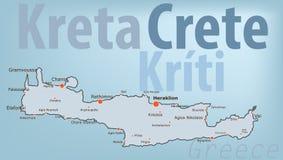 Crete Obraz Stock
