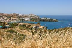 Crete - Agia Pelagia Stock Images