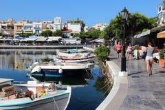 Crete, Agios Nikolaos - Fotografia Stock