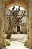Crete Arkadi convent Stock Images