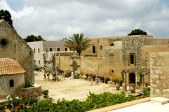 Crete Arkadi convent view Royalty Free Stock Photo
