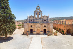 Crete arkadi monaster zdjęcia stock