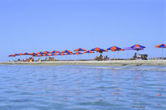 Crete beach Stock Photo