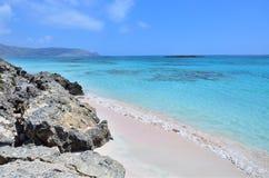 Crete beach Elafonisi Royalty Free Stock Image